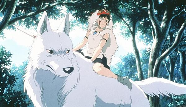 Princess Mononoke  Japan 1997 Dir: Hayao Miyazaki SOURCE CREDIT: 'British Film Institute'
